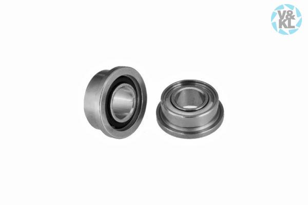 3,175 x 6,350 x 2,779 mm Ceramic, Radial, Flanged Ball Bearing