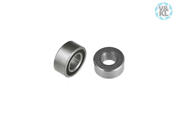 3,175 x 6,350 x 2,779 mm Ceramic, Angular, Smooth, Integral Shield Ball Bearing
