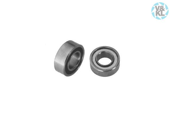 3,175 x 6,350 x 2,380 mm Ceramic, Angular, Smooth Ball Bearing